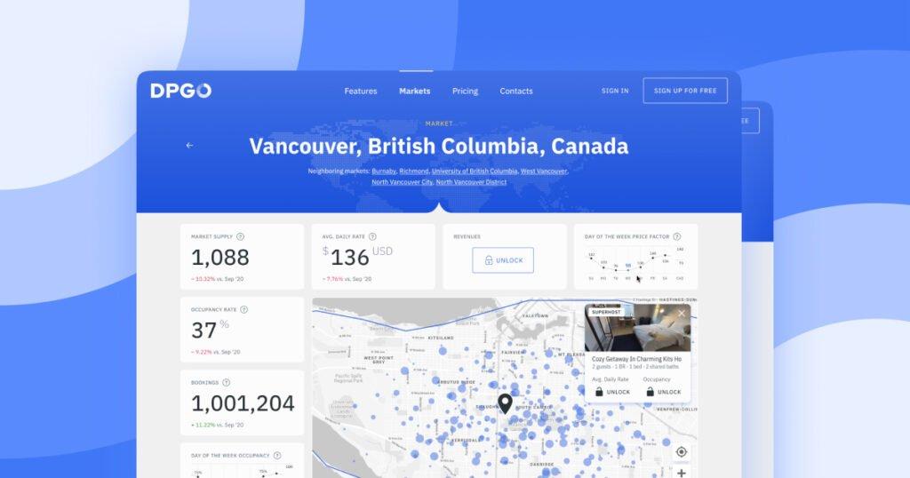 Analyze Airbnb Data with Markets by DPGO