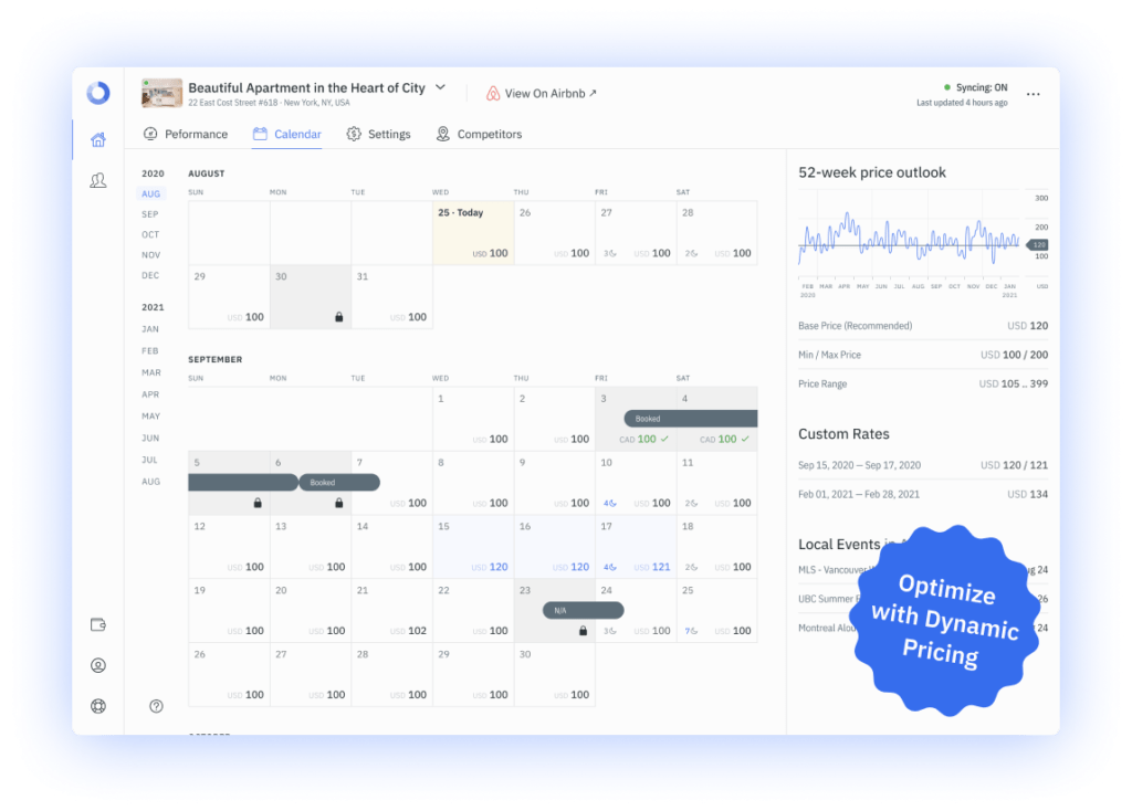 We're experts in local market data, and we've put all of the data you'll need in your account's Performance Dashboard.