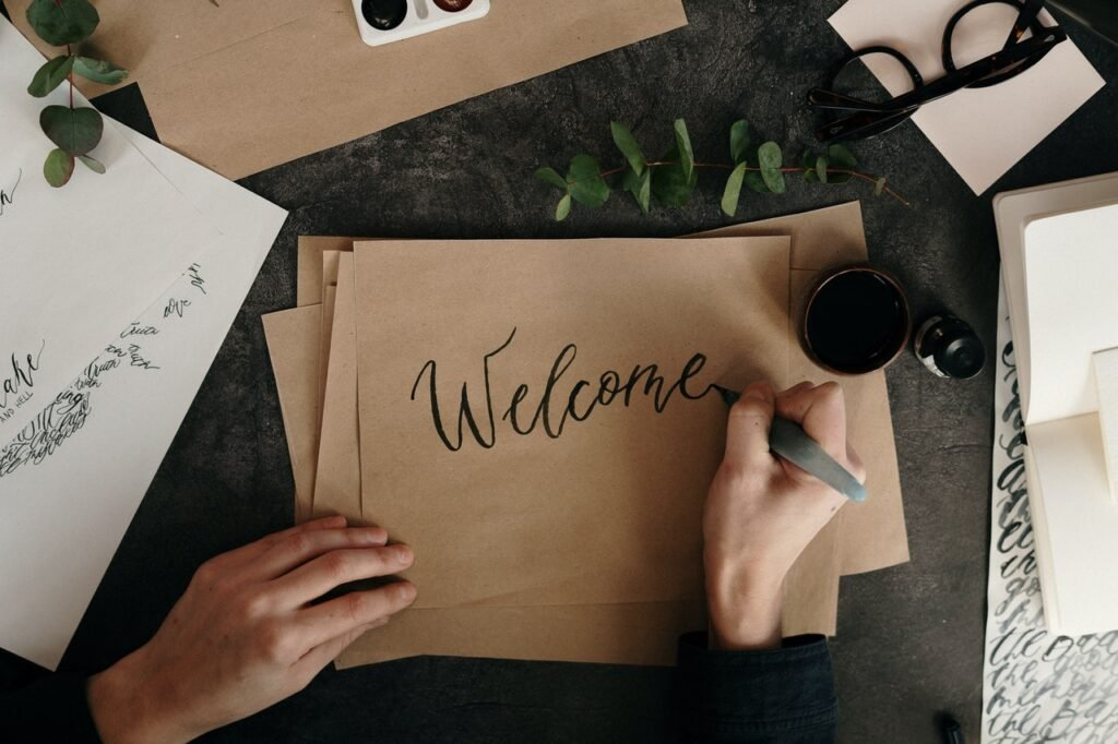 Welcome Sign Co Hosting Airbnb