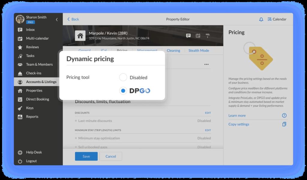 Select DPGO as source